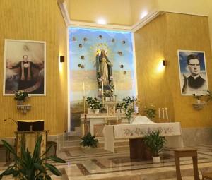 """ESERCIZI SPIRITUALI DAL 20 AL 22 SETTEMBRE 2018 NELLA CASA DI RIPOSO PER LE SUORE """"MARIA MADRE DELLA MISERICORDIA"""""""
