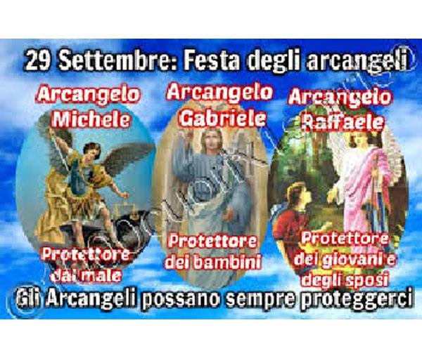Il 29 settembre la Chiesa celebra gli Arcangeli